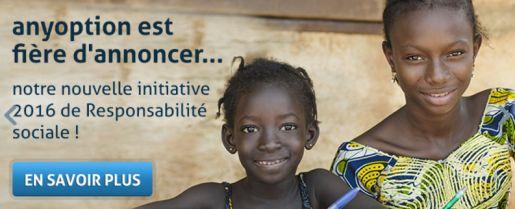 Anyoption UNICEF