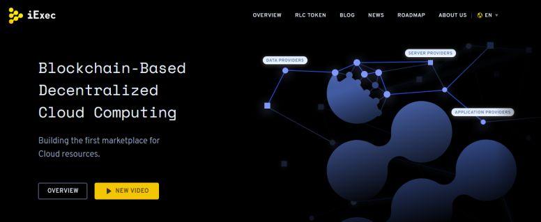 cryptocurrency iExec (RLC)
