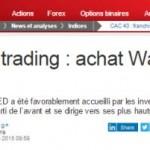 idée de trading