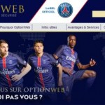 optionweb sponsor du psg