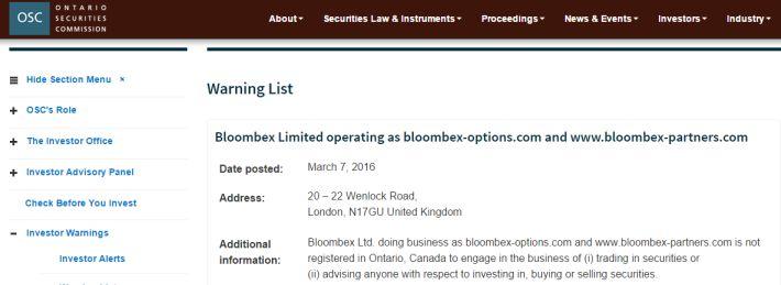 Bloombex OSC