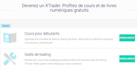cours xtrade