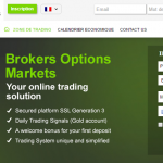Brokers Options Markets
