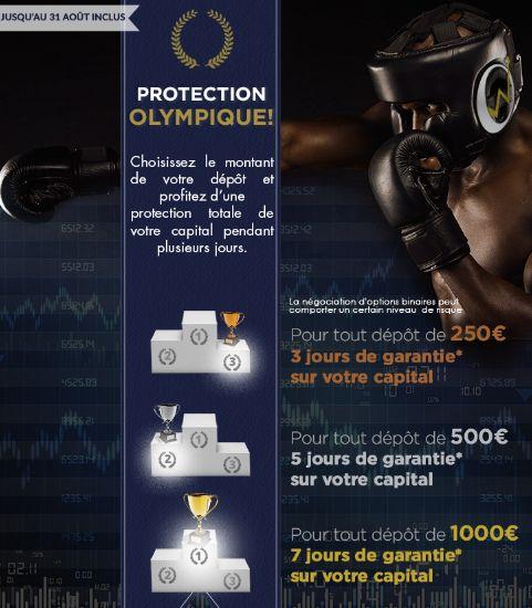 Protection olympique OptionWeb