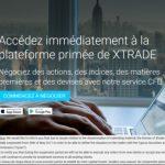 Xtrade perd sa licence de façon partielle