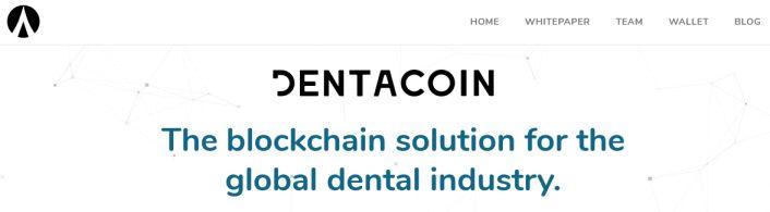 Plateforme Dentacoin DCN sur la blockchain