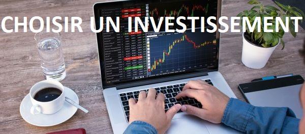 investissement en ligne